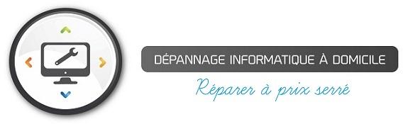 Maxime Brunier DEPANNAGE INFORMATIQUE à domicile Logo